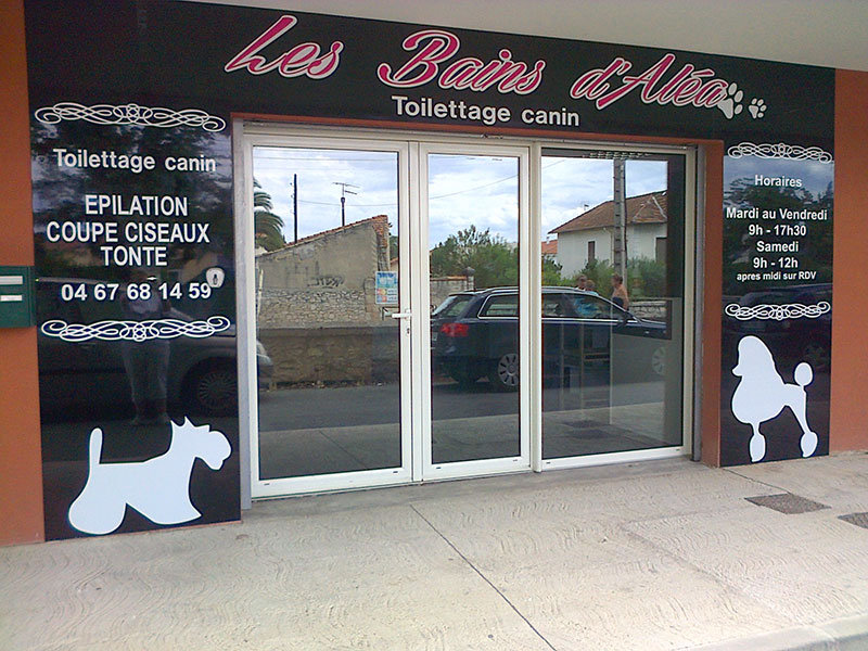 O se trouve notre salon de toilettage canin for Salon du toilettage